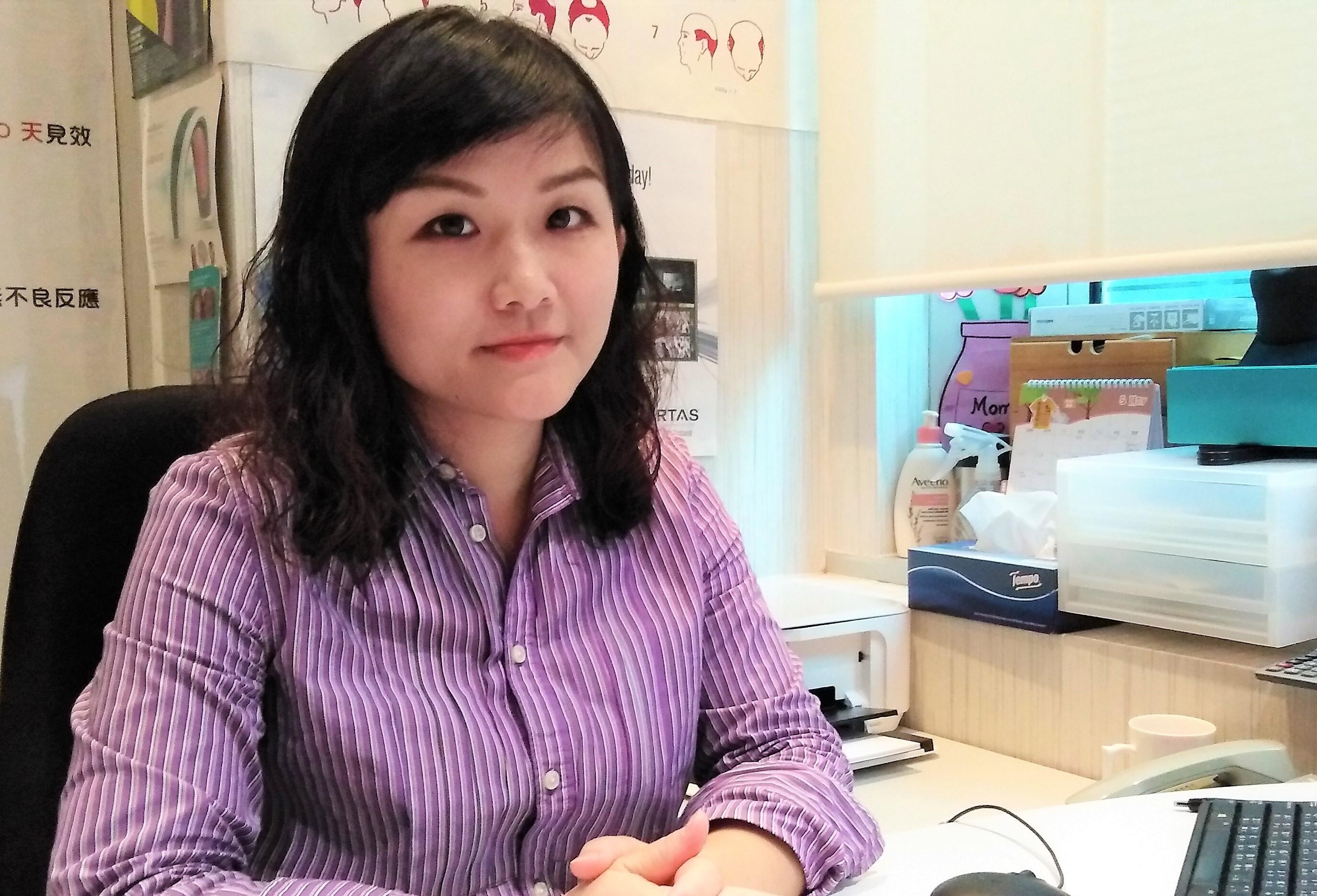《遇見顯赫系列2》資深植髮及頭髮護理顧問李燕瓊